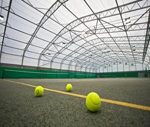 Каркасно тентовый теннисный корт
