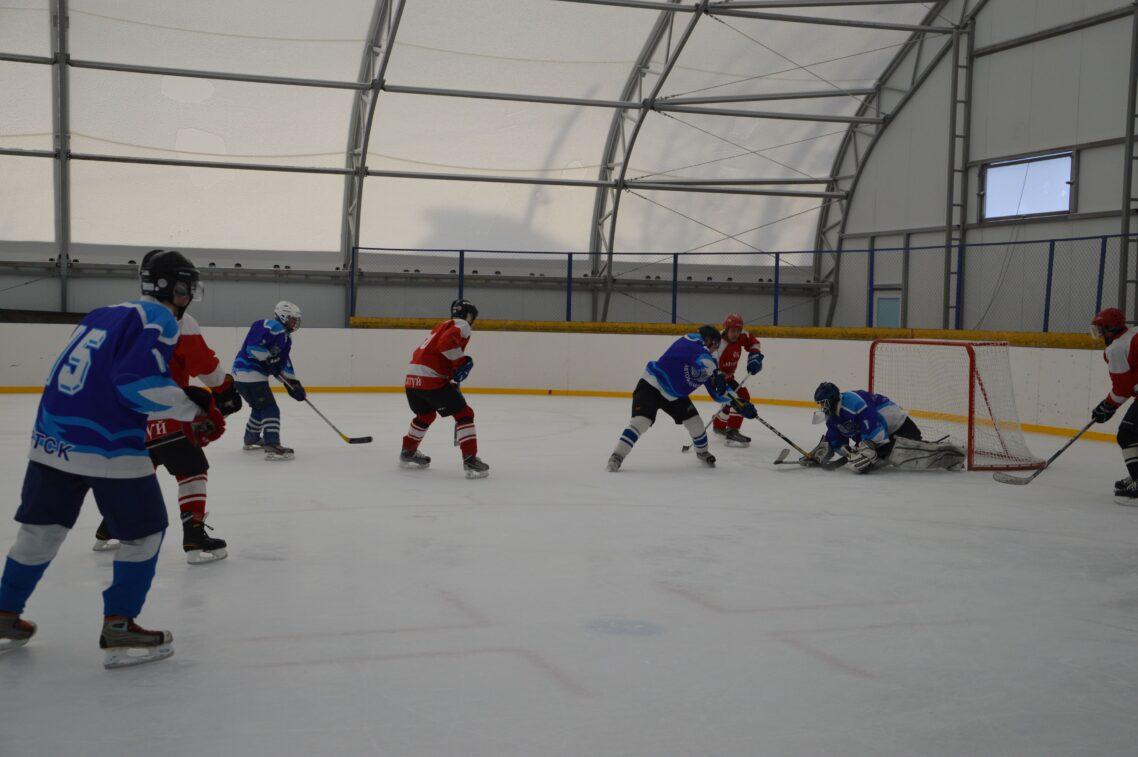 Строительство каркасно тентовой хоккейной арены