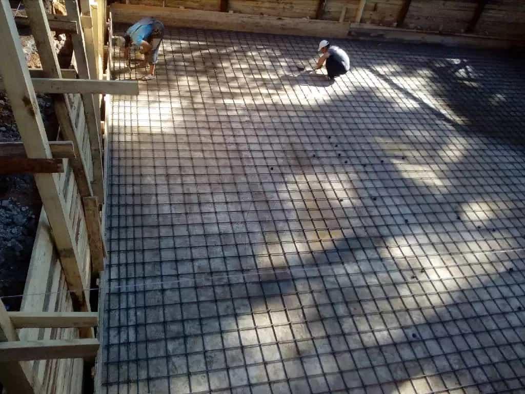 Монтаж металлокаркаса и тентов, общестроительные и бетонные работы