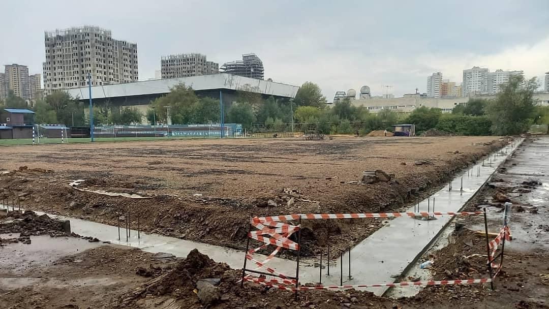 Строительство спортивных ангаров в Москве