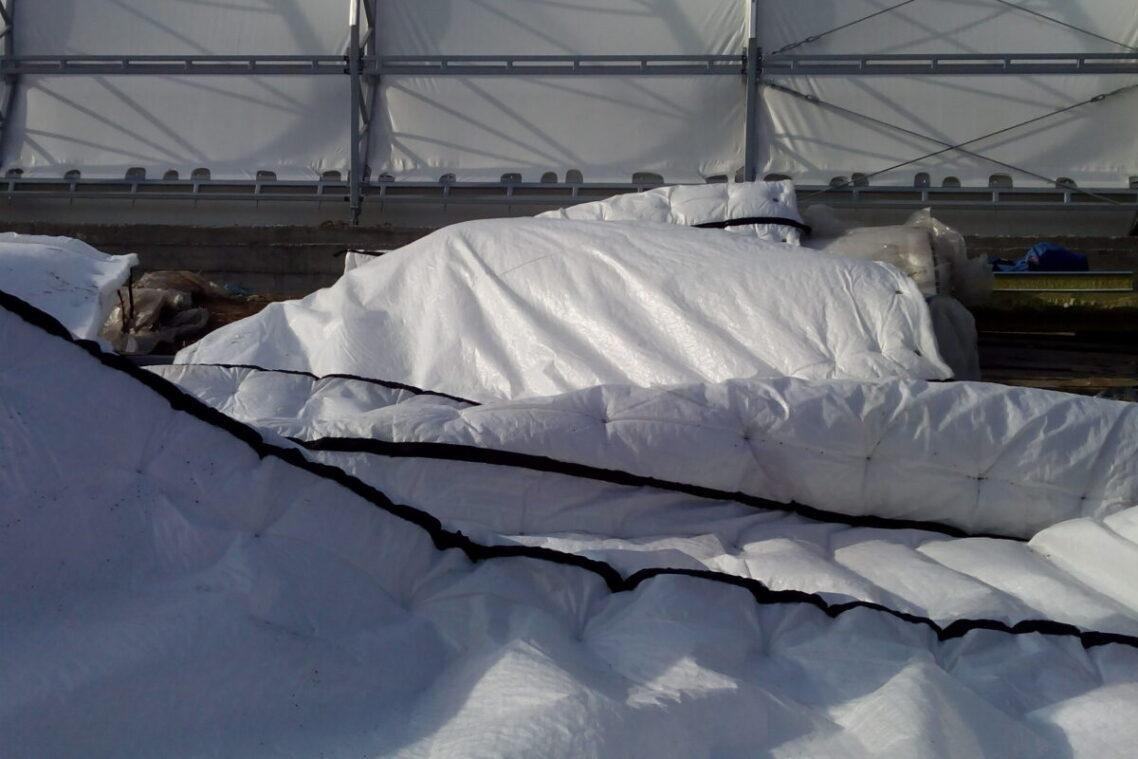 Экономичное утепление холодных тентовых ангаров